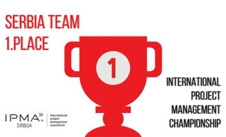 The Serbian team won the first place at the International Project Management Championship