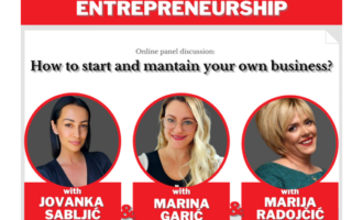 Online panel discussion with successful women entrepreneurs within the project Digital Project Women Entrepreneurship